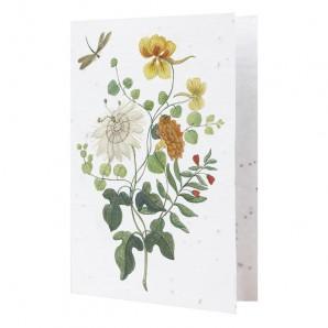 bloemen kaart