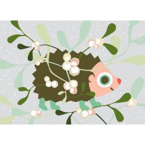 Hikje - Winterkaart Egel