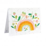 Bloeikaart - Regenboog