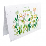 Growcard - Flowers for GRANDmA