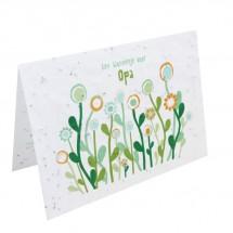 Bloeikaart - Een bloemetje voor OPA