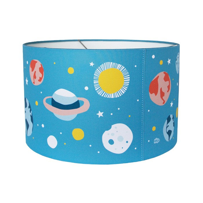 Hikje lampenkap kinderkamer planeten - Kinderkamer ruimte ...